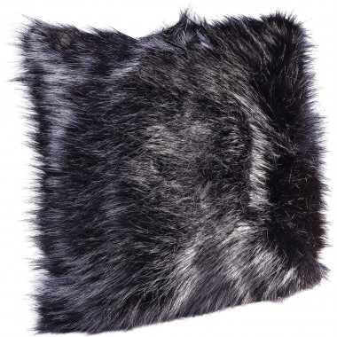 Cushion Ontario Fur Black 45x45cm Kare Design