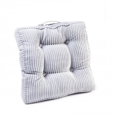 Cushion Cord Handle Grey 45x45cm Kare Design