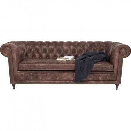 Sofa Oxford 3-Seater Vintage Deluxe Kare Design