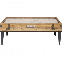 Table basse Collector 122x55cm Kare Design