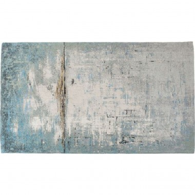 Carpet Abstract Light Blue 300x200cm Kare Design