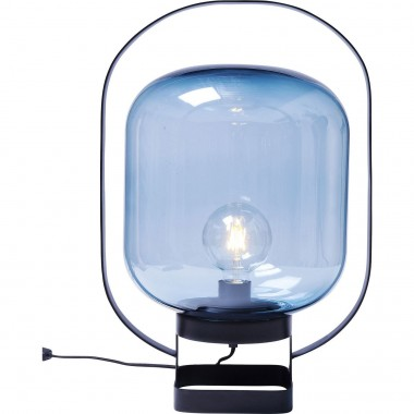 Table Lamp Jupiter Blue-Black Kare Design