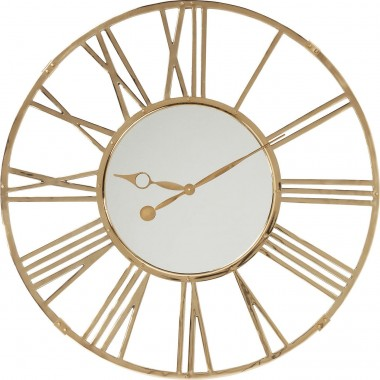 Wall Clock Giant Gold Ø120cm Kare Design