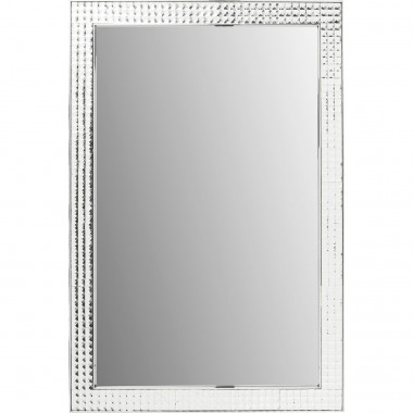 Mirror Crystals Steel Chrome 120x80cm Kare Design