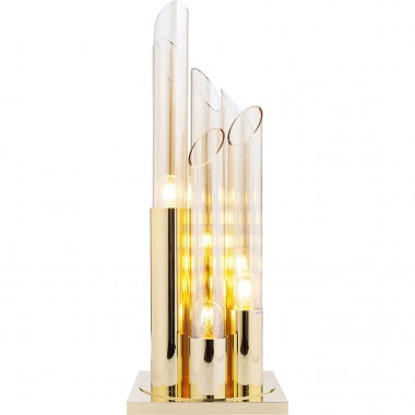 Table Lamp Pipe Gold 80cm Kare Design
