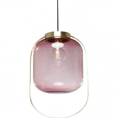 Pendant Lamp Jupiter Pink-Brass Kare Design
