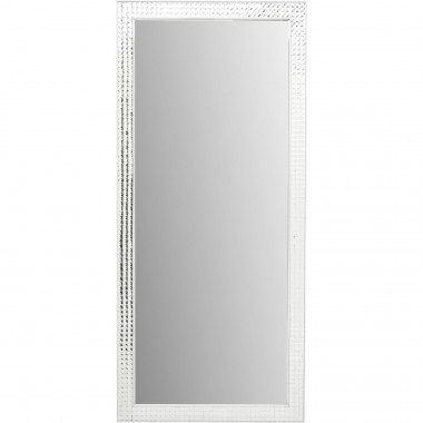 Mirror Crystals Steel Chrome 180x80cm Kare Design