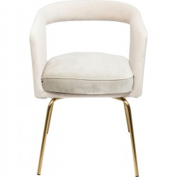 Cocktail Chair Rimini Powder-Grey Kare Design