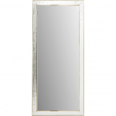 Mirror Crystals Steel Gold 180x80cm Kare Design