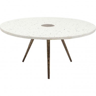 Coffee Table Terrazzo White Ø92cm Kare Design
