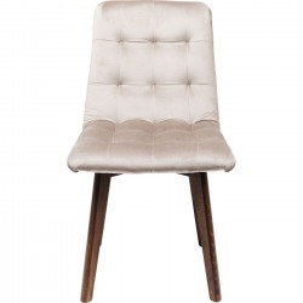 Chair Moritz Velvet Silbergrey Kare Design
