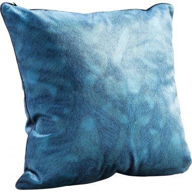 Coussin Flow turquoise 45x45cm Kare Design