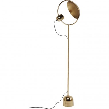 Floor Lamp Reflector Brass Kare Design