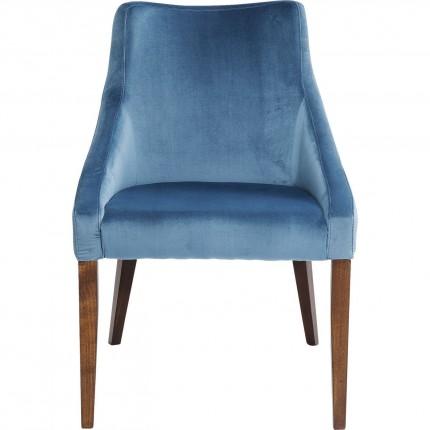 Chair Mode Velvet Bluegreen Kare Design