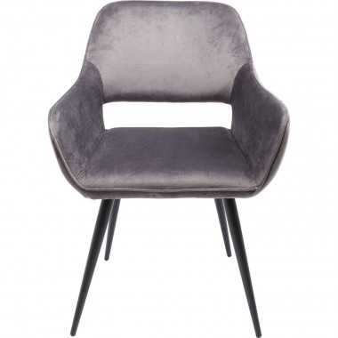 Chair with Armrest San Francisco Grey Kare Design