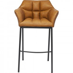 Tabouret de bar Thinktank Quattro marron Kare Design