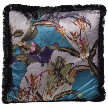 Cushion Flower Garden Fringe 45x45cm Kare Design