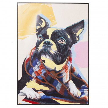 Picture Touched Lazy Toto 102x72cm Kare Design