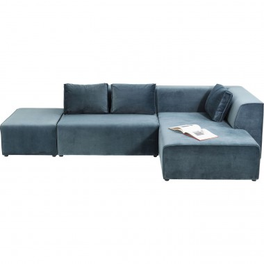 Sofa Infinity Velvet Ocean Right Kare Design