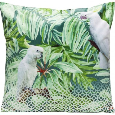 Cushion Jungle Cockatoo 45x45cm Kare Design