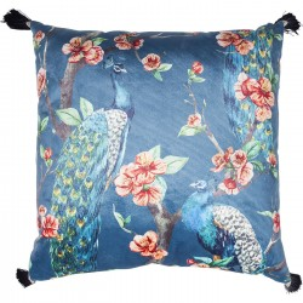 Cushion Paradise Peacock 45x45cm Kare Design