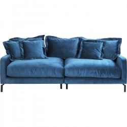 Sofa Lullaby 3-seater Blue Kare Design