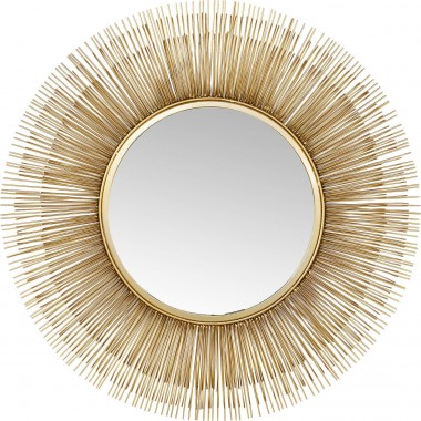 Mirror Sunburst Tre Gold Ø87cm Kare Design