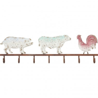 Coat Rack Farm Animals Kare Design