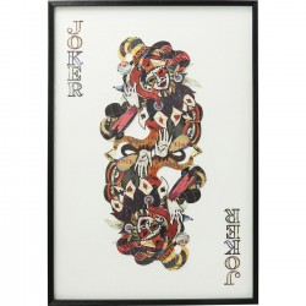 Ingelijste kunst Art Joker 145x100cm Kare Design