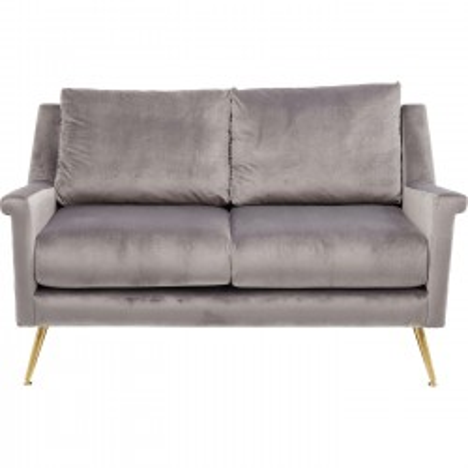 Sofa San Diego 2-Seater Grey 145cm Kare Design