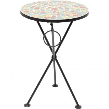 Side Table Clack Mosaic Colore Ø36cm Kare Design