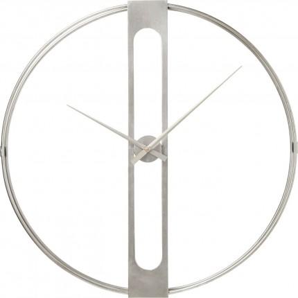Wall Clock Clip Silver Ø60cm Kare Design