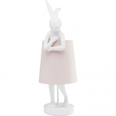 Table Lamp Animal Rabbit White Kare Design