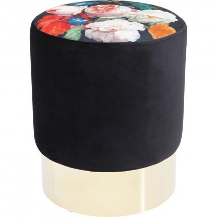 Stool Cherry Blossom Brass  Ø35cm Kare Design