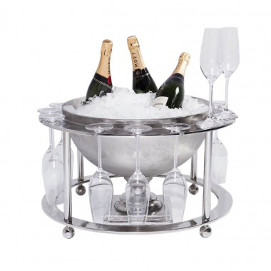 Wine Cooler Champagne Time ( 2-tlg.) Kare Design