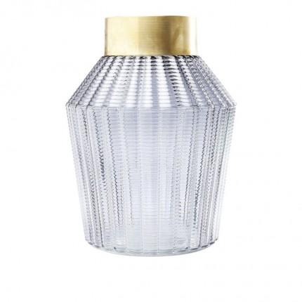 Vase Barfly Grey 30cm Kare Design