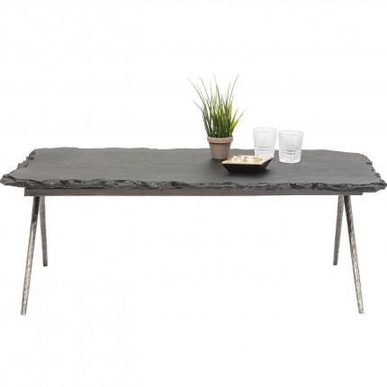 Table basse Pilla Stone 121x61cm Kare Design