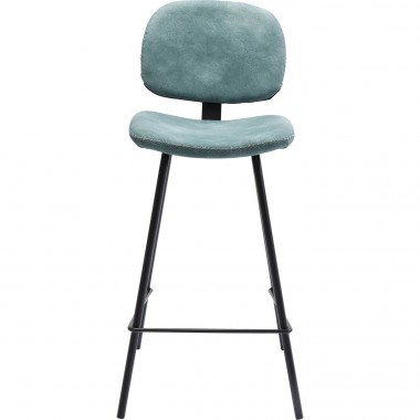 Bar Stool Barber Light Blue 65cm Kare Design