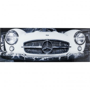 Picture Glass Oldtimer Front 60x160cm Kare Design