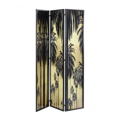 Room Divider Glass Palms Kare Design