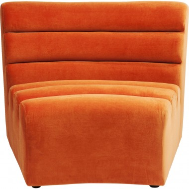 Sofa Element Wave Orange Kare Design