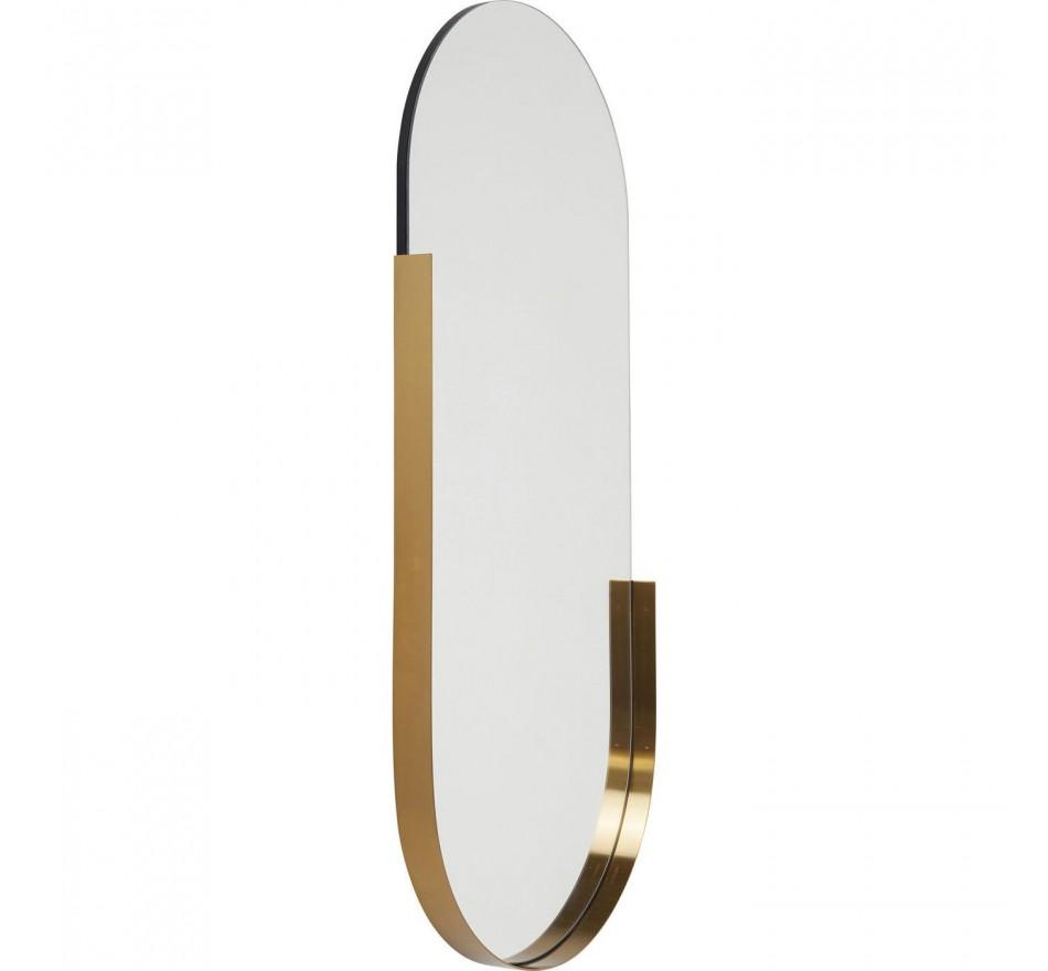 Mirror Hipster Oval 114x50cm Kare Design