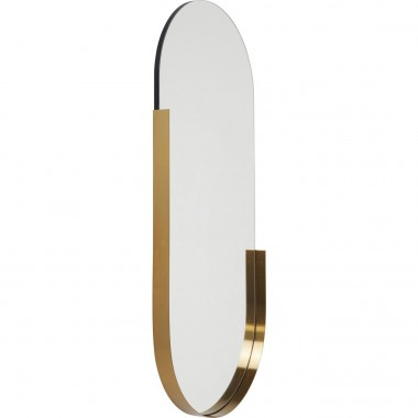 Mirror Hipster Oval 114x50cm Kare Design