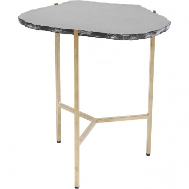 Side Table Piedra Black 50x45cm Kare Design