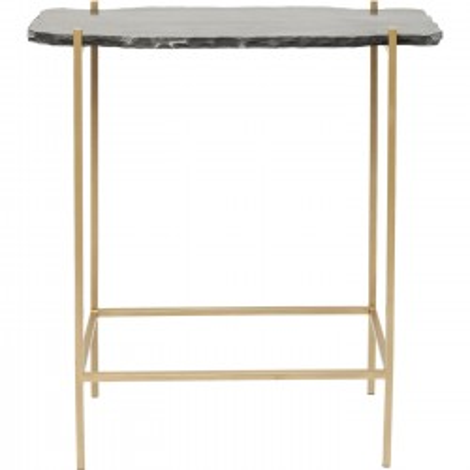 Bar Table Piedra Black 60x30cm Kare Design