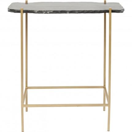 Table de bar Piedra noire 60x30cm Kare Design