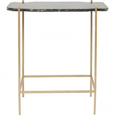 Bar Table Piedra Black 60x30cm Kare Design
