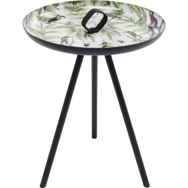 Table d'appoint Jungle animaux 39cm Kare Design