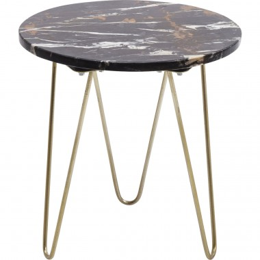 Side Table Key Largo Brown Ø35cm Kare Design