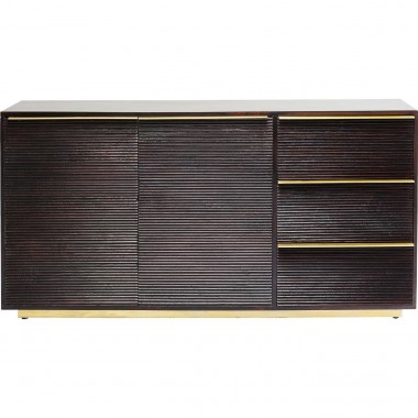 Sideboard Casino Lounge 3 Drw, 2 doors Kare Design